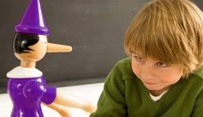 mentira en niños